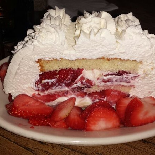 strawberry shortcake - Trattoria Romana, Boca Raton, FL