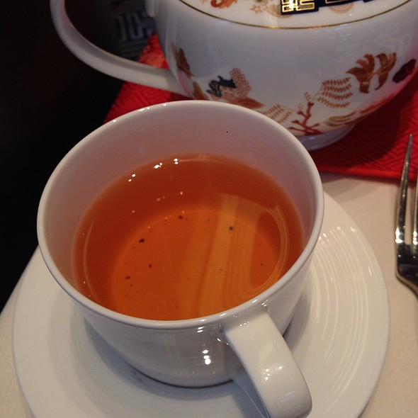 Lychee, Rose & Almond Tea - Xi Shi Lounge, Shangri-La Hotel Vancouver, Vancouver, BC