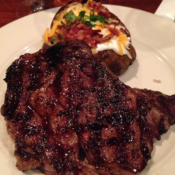 Ribeye Steak - Village Tavern (Hanes Mall Blvd) Winston-Salem, Winston-Salem, NC