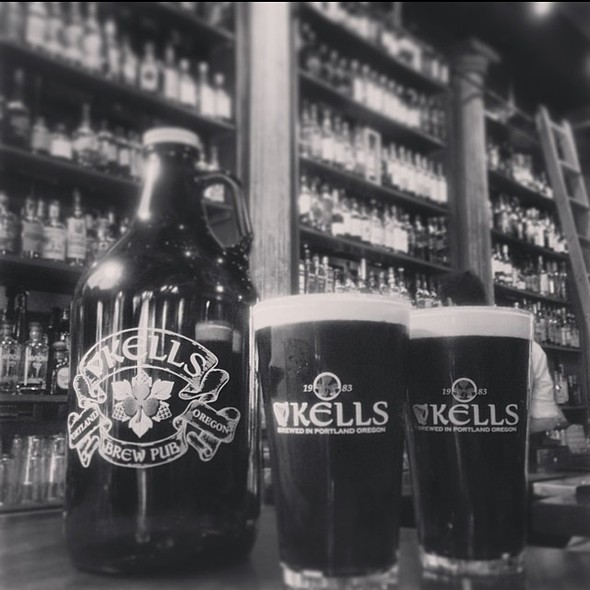 Kells Stout - Kells Irish Restaurant & Bar, Seattle, WA