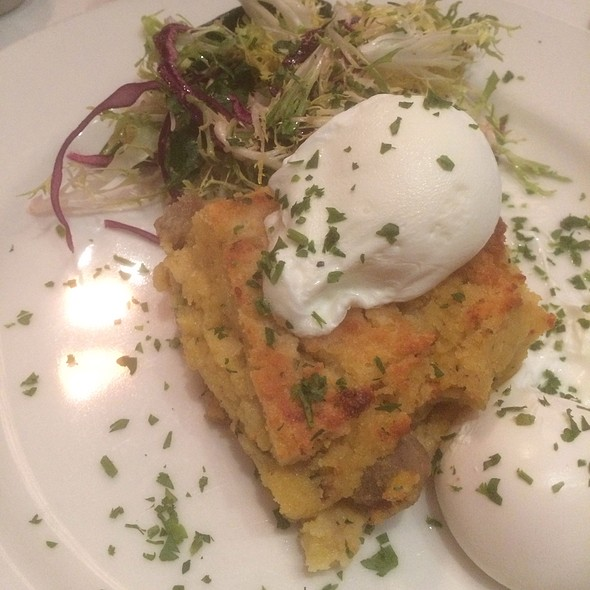 Poached Eggs - Mon Ami Gabi - Bethesda, Bethesda, MD