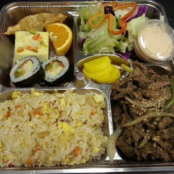 Bulgogi Lunch Box - Seorabol Korean Restaurant, Philadelphia, PA