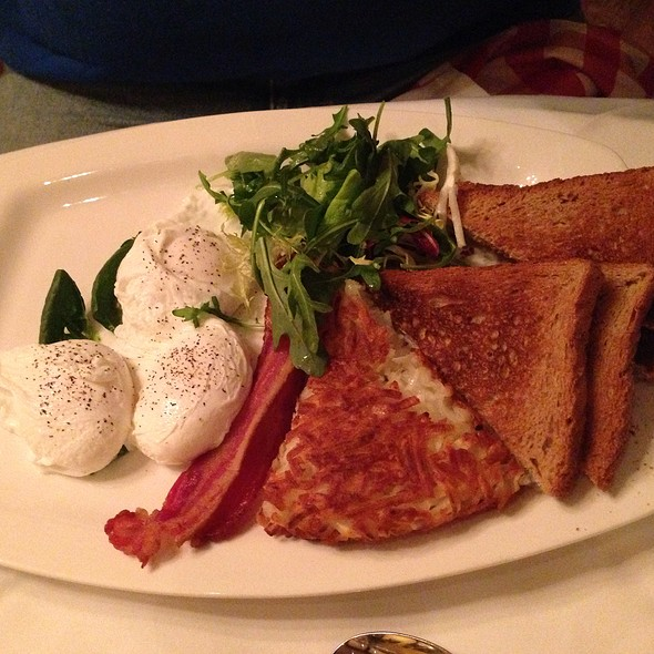 Poached Eggs - Saju Bistro, New York, NY