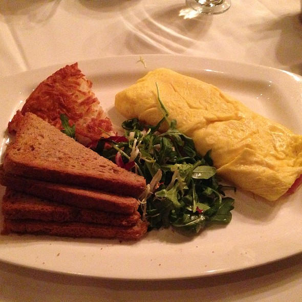 Ham And Cheese Omelette - Saju Bistro, New York, NY