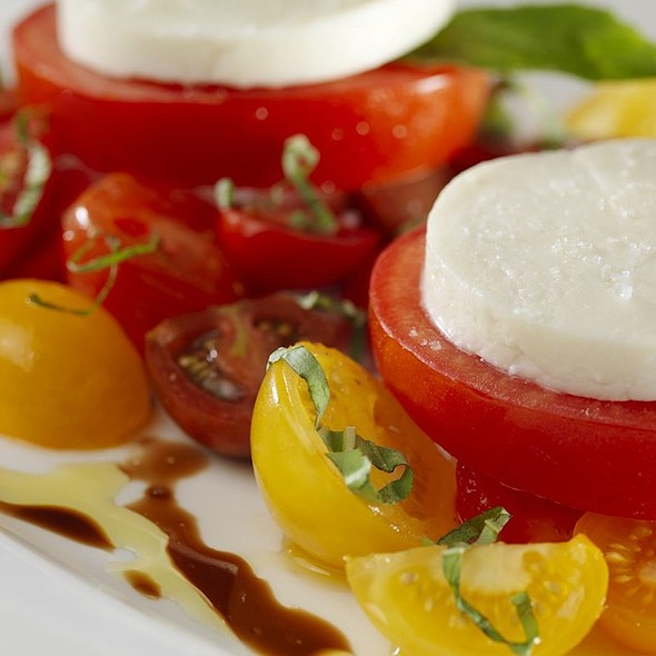 Fresh Mozzarella, Tomato, & Basil Salad - The Capital Grille - Tysons Corner, McLean, VA