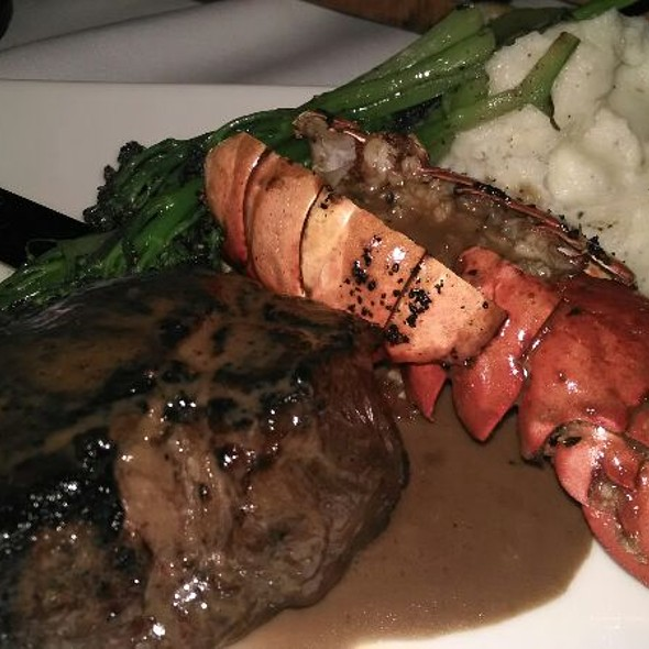 Bistecca And Lobster With Mashed Potatoes  - Il Palio, Shelton, CT