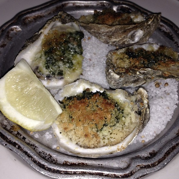 Baked Oysters Rockefeller - Clyde's of Tysons Corner, Vienna, VA