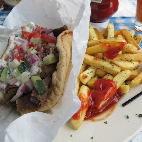 gryo pita - George's Greek Cafe - Lakewood, Lakewood, CA