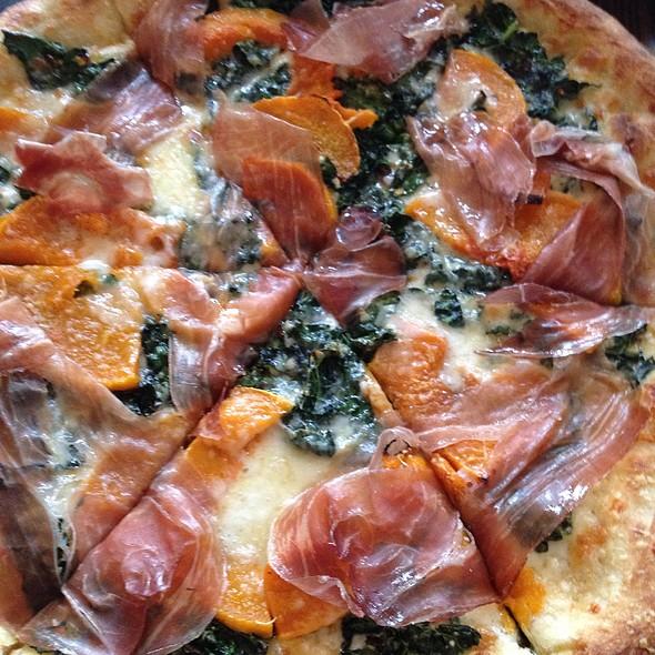 Zucca Fontina Pizza Con Prosciutto - Gioia Pizzeria, San Francisco, CA