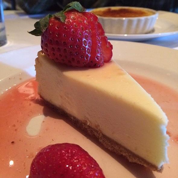 Meyer Lemon Cheesecake - Little Alley Steak - Roswell, Roswell, GA