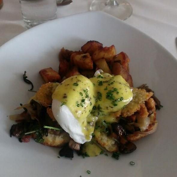 Eggs Chizmar - Bolete Restaurant, Bethlehem, PA