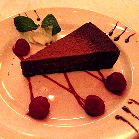Flourless Chocolate Espresso Cake - The Capital Grille - NY – Time Life Building, New York, NY