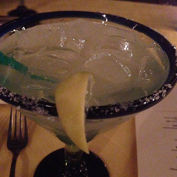 Smoked Margarita - Adobe Grill, La Quinta, CA