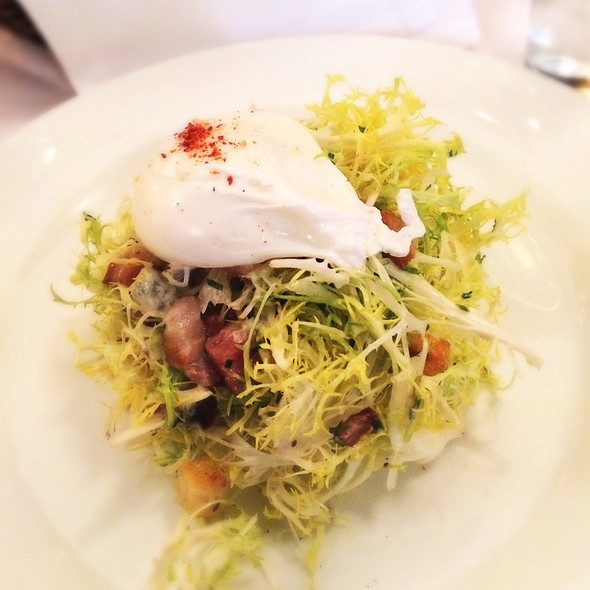 Frisee Salad With Egg - The Odeon, New York, NY