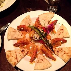 Indian Butter Shrimp - Bistro Merlot, Kirkland, QC