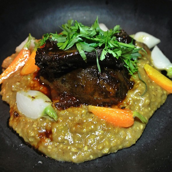 Braised Beef Cheek - Vernick Food & Drink, Philadelphia, PA