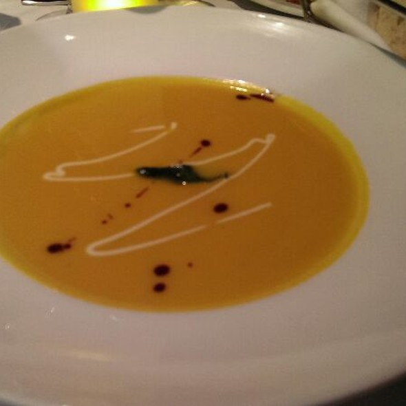 Butternut Squash Soup - Juniper Restaurant in the Vail Valley, Edwards, CO