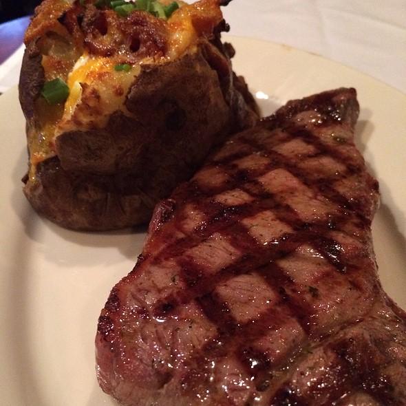 New York Strip Steak - Joe's American Bar and Grill - Waterfront, Boston, MA