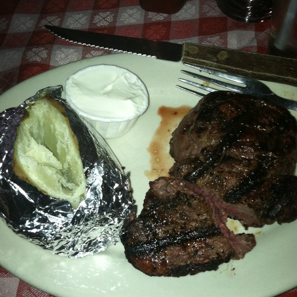 Filet Mignon - Janko's Little Zagreb, Bloomington, IN