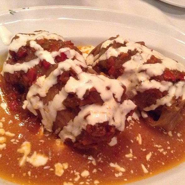 Stuffed Cabbage Rolls - Red Tavern, San Francisco, CA
