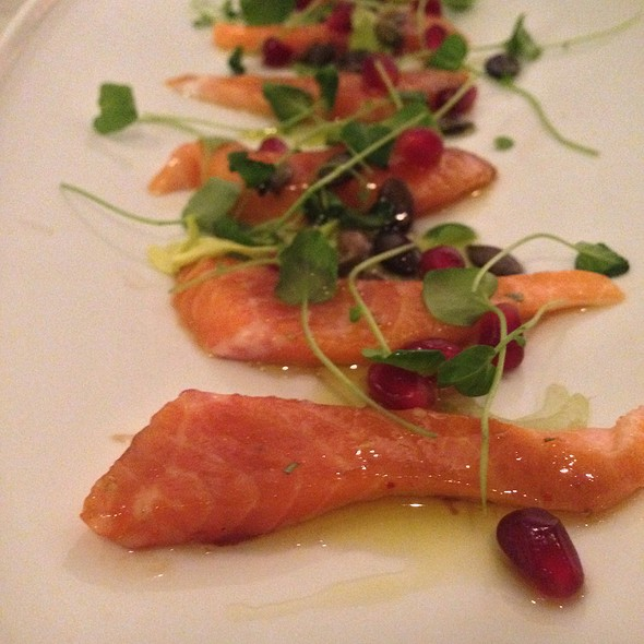 Arctic Char Crudo - Rialto, Cambridge, MA