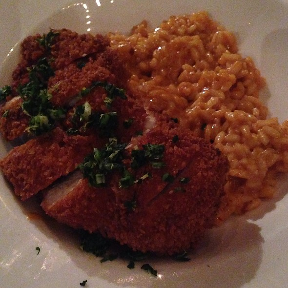 Chipotle Risotto With Panko-Crusted Chicken - 5th and Wine, Scottsdale, AZ