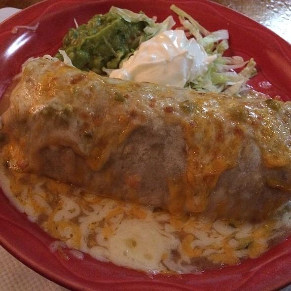Deluxe Burrito - Mijares Mexican Restaurant, Pasadena, CA