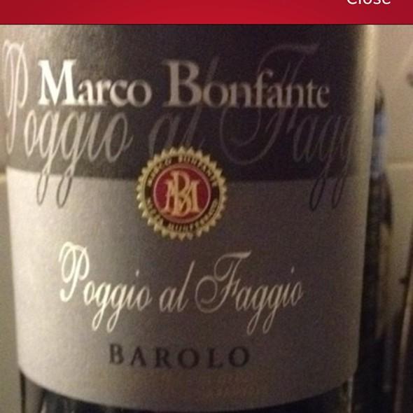 Poggio Al Faggio Barolo Red Wine - Quintonil, Ciudad de México, CDMX