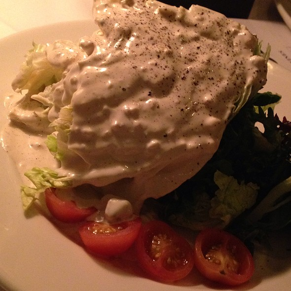 Wedge Salad w/ Blue Cheese - 801 Chophouse - St. Louis, Clayton, MO