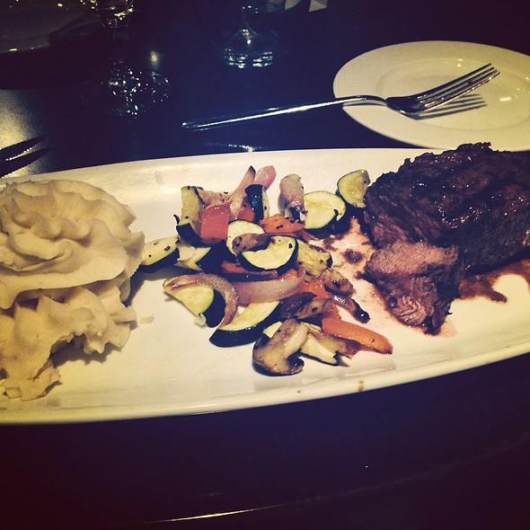 Sirloin Steak With Garlic Mash And Veg - The Cellar Restaurant, Coeur d'Alene, ID
