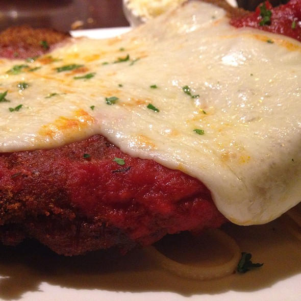 Pork Cutlet Parmesan - Fred and Steve's Steakhouse, Lincoln, RI