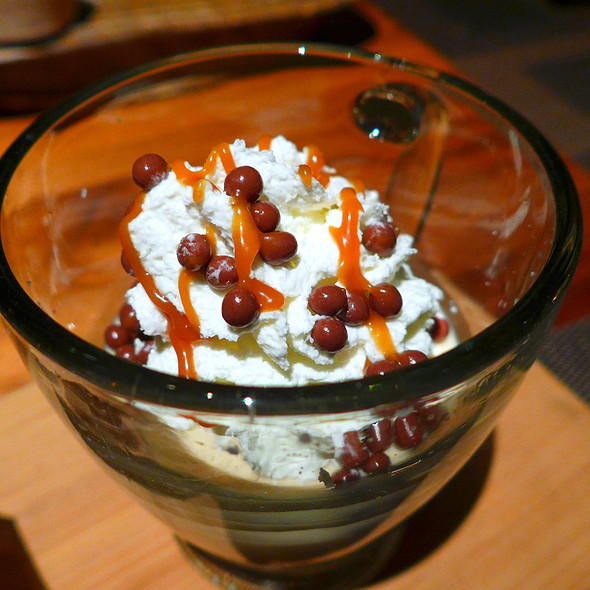 Salted Caramel Panna Cotta - Core Kitchen and Wine Bar at The Ritz-Carlton Dove Mountain, Marana, AZ