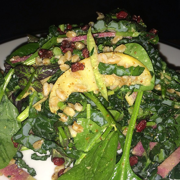 Kale Salad - The National Bar & Dining Rooms, New York, NY