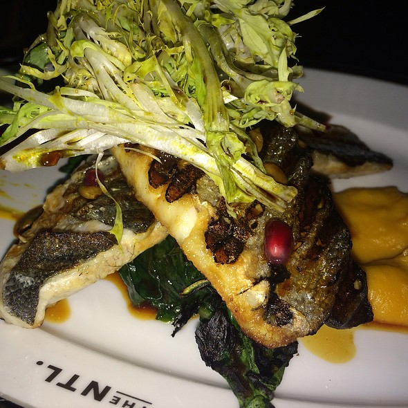 Grilled Branzino - The National Bar & Dining Rooms, New York, NY