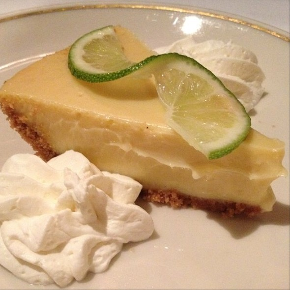 Key Lime Pie - The Prime Rib, Philadelphia, PA