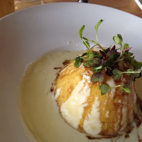 Polenta In A White Truffle Sauce - Cassariano Italian Eatery, Venice, FL