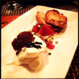 Burrata Salad With Heirloom Beets and Figs. - Hardware Grill, Edmonton, AB