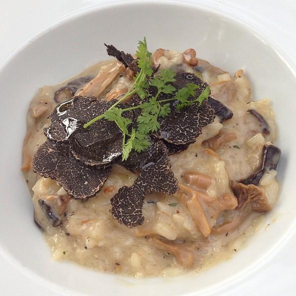 mushroom risotto - Bistro Jeanty, Yountville, CA