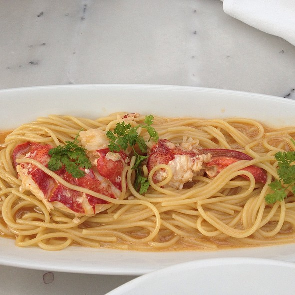 Lobster Spegetti - Bistro Jeanty, Yountville, CA
