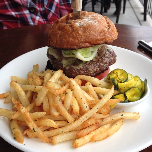 burger and fries - Artisan, Paso Robles, CA