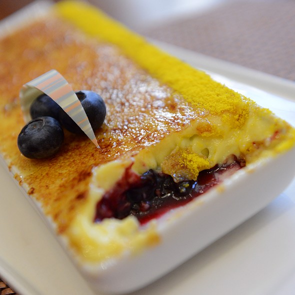 Lemon Blueberries Creme Brulee - Citrus, Newport Beach, CA
