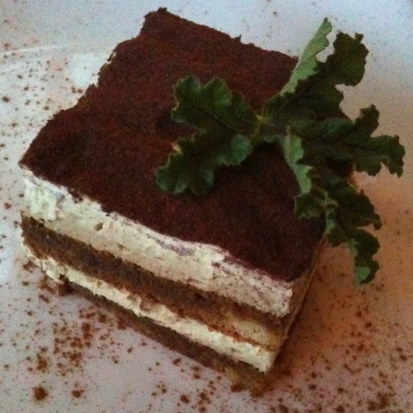 Tiramisu - The Ranch House, Ojai, CA