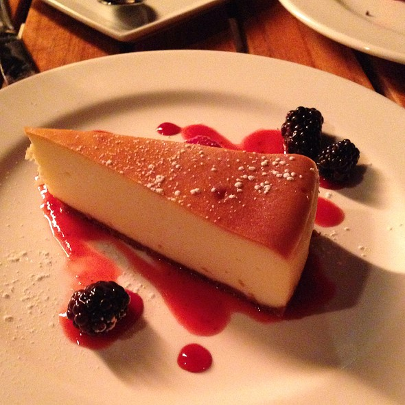 Cheesecake - The Scott Grill at The Scott Resort & Spa, Scottsdale, AZ