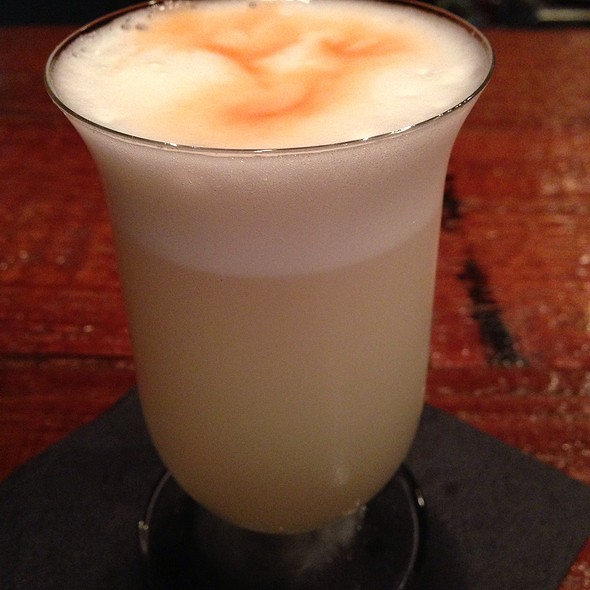 Pisco Sour - Los Balcones del Peru, Los Angeles, CA