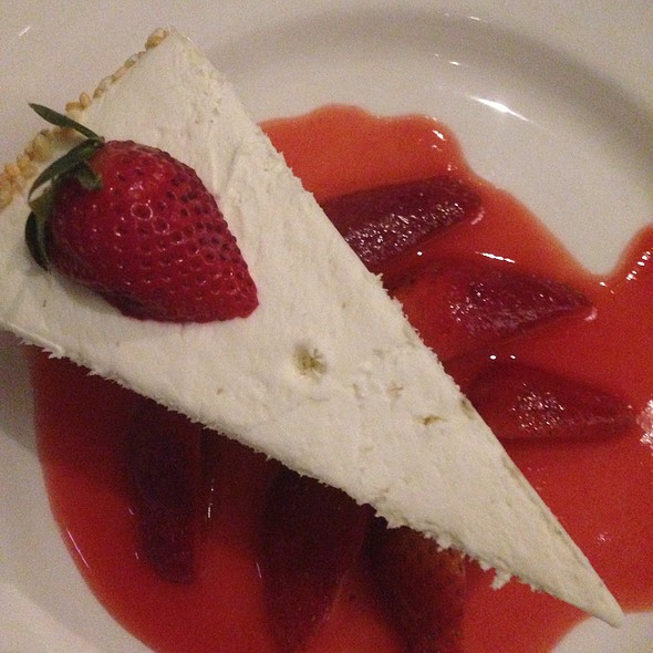 Cheesecake - Del Frisco's Double Eagle Steakhouse - Chicago, Chicago, IL