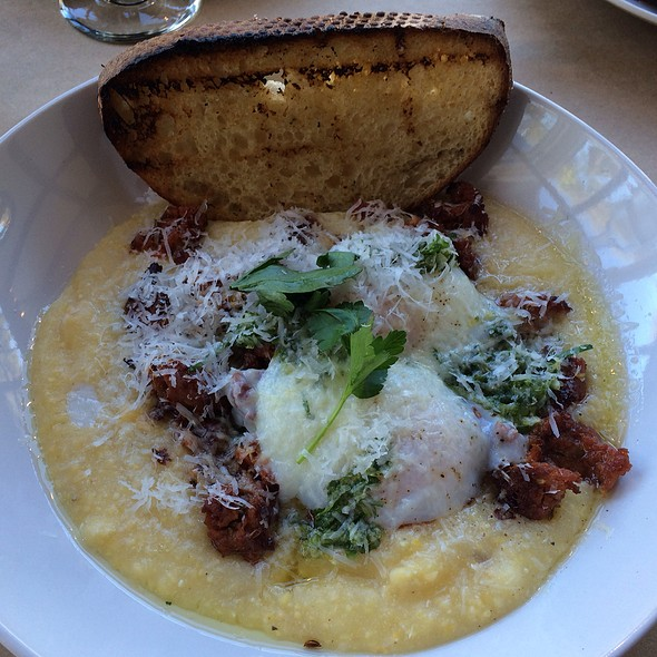 Anson Mills Polenta + Toast - Hillside Supper Club, San Francisco, CA