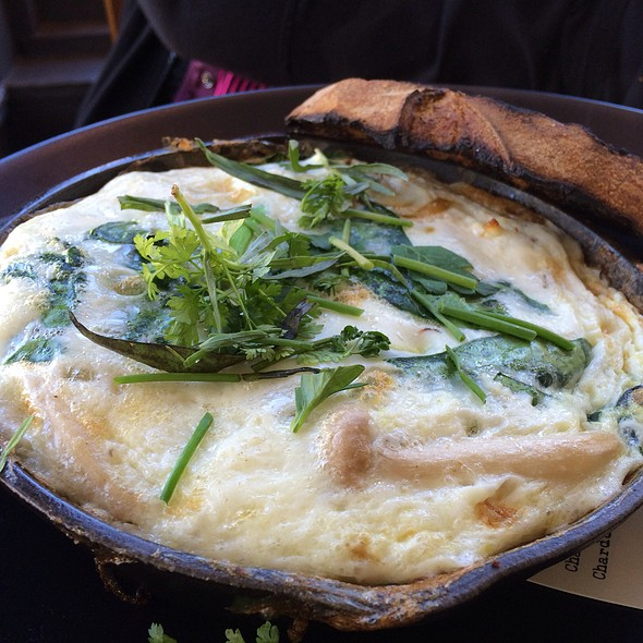 Egg White Frittata - Hillside Supper Club, San Francisco, CA