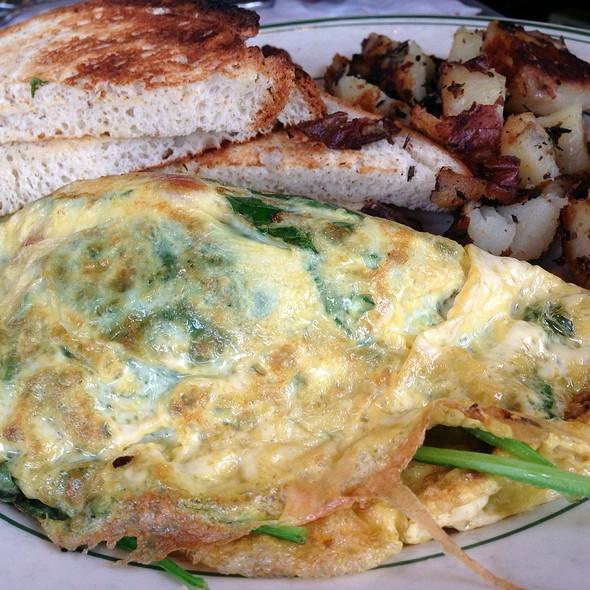 Americana Omelette - Americana Restaurant, Del Mar, CA