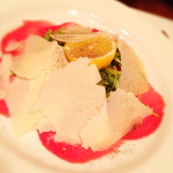 Carpaccio di Manzo - The Tasting Room at Palio, Leesburg, VA