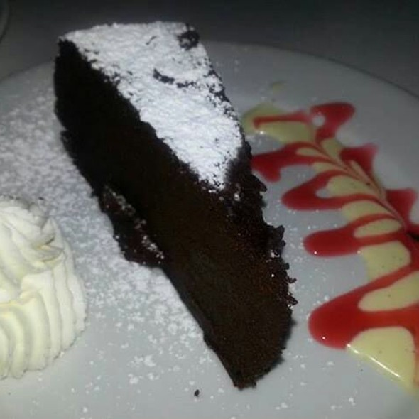 flourless chocolate cake - Cafe Bizou - Sherman Oaks, Sherman Oaks, CA